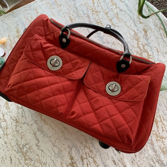 Baggallini Handbags - Baggallini Rolling Duffel Weekend Carry On  Bag